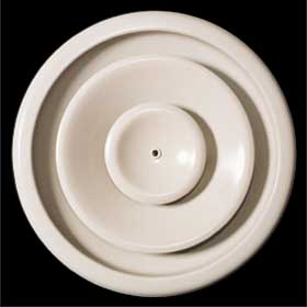 Round ceiling diffuser - adjustable pattern - ARD
